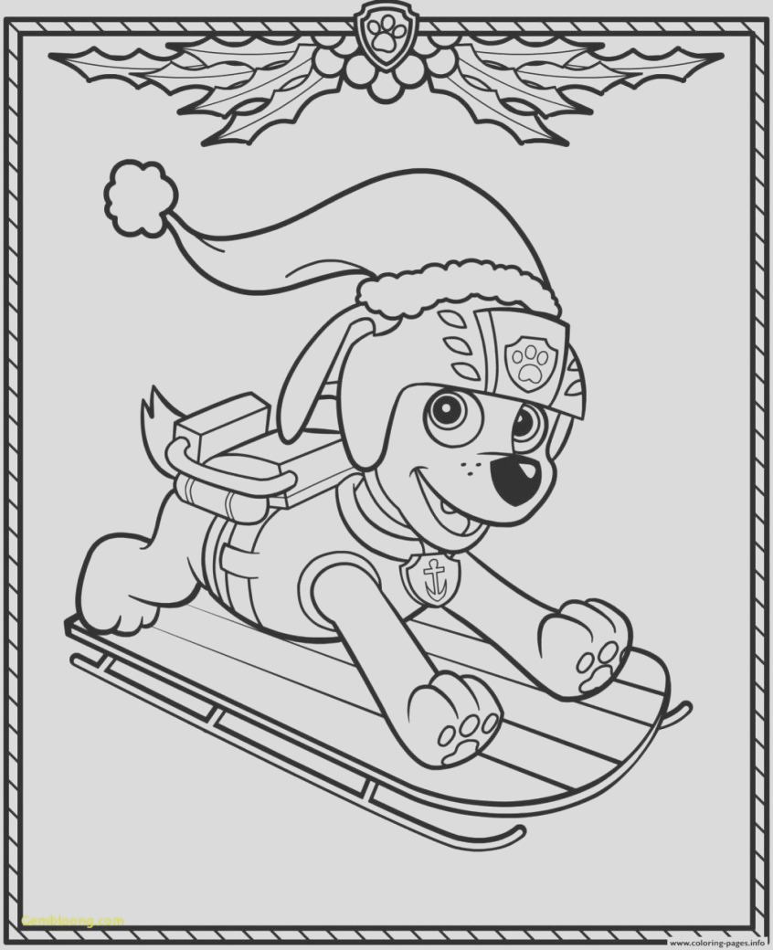 coloring pages paw patrol games unique print holiday christmas zuma free sheets 846x1040