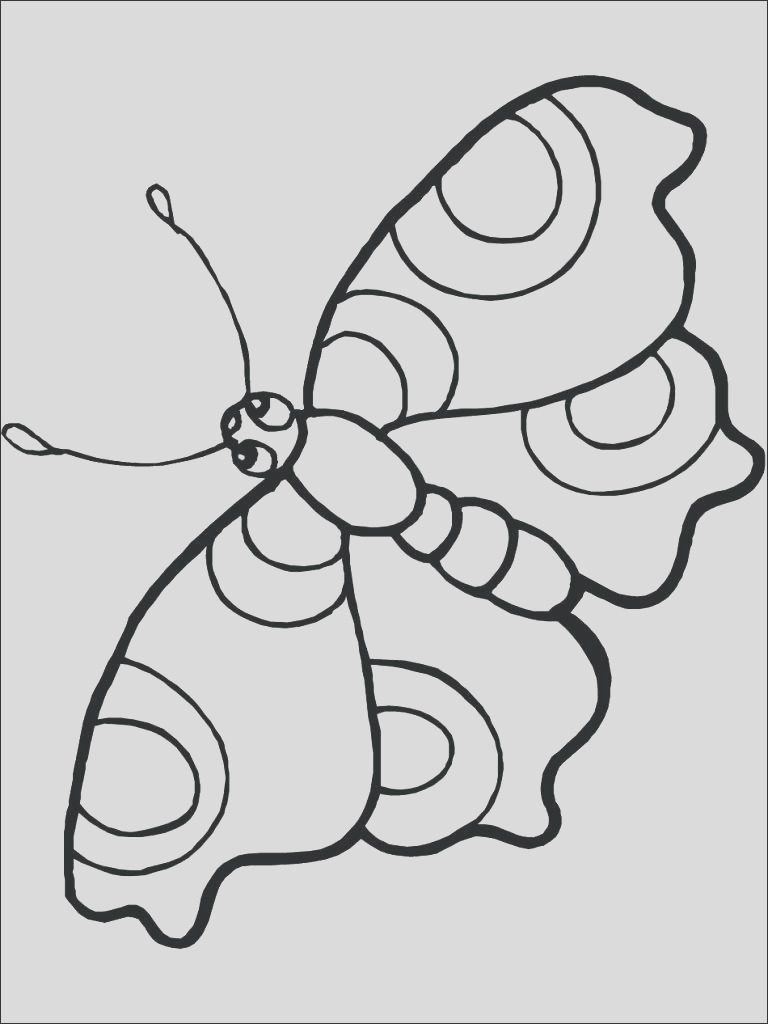butterfly free coloring page new photos printable pages christmas lights
