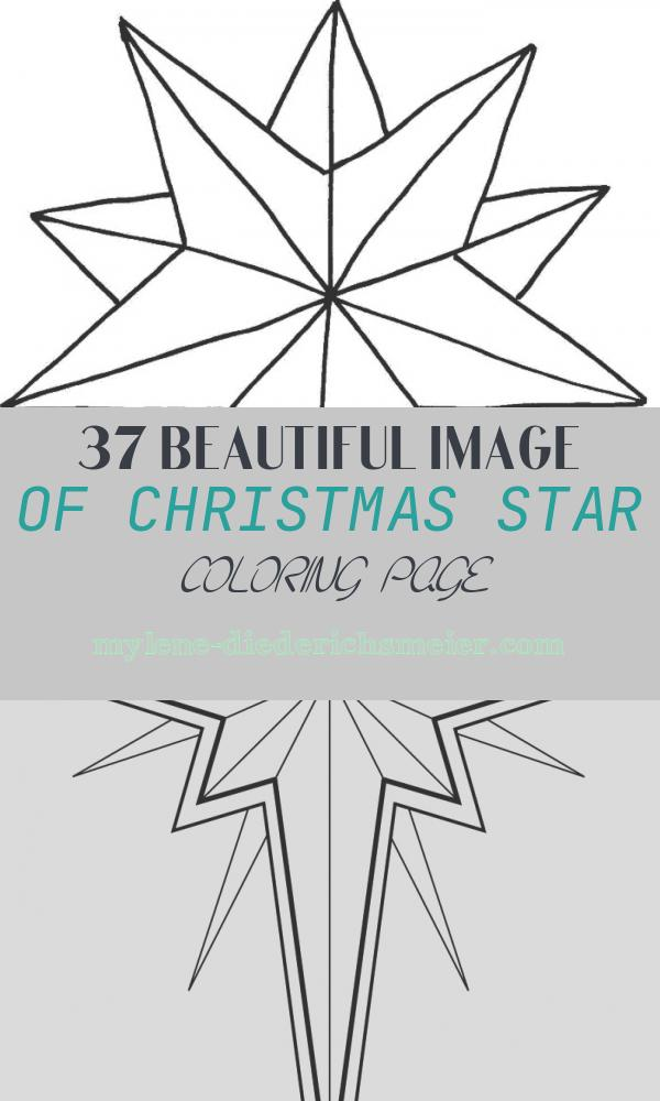 Christmas Star Coloring Page Fresh Star Line Drawing Cliparts