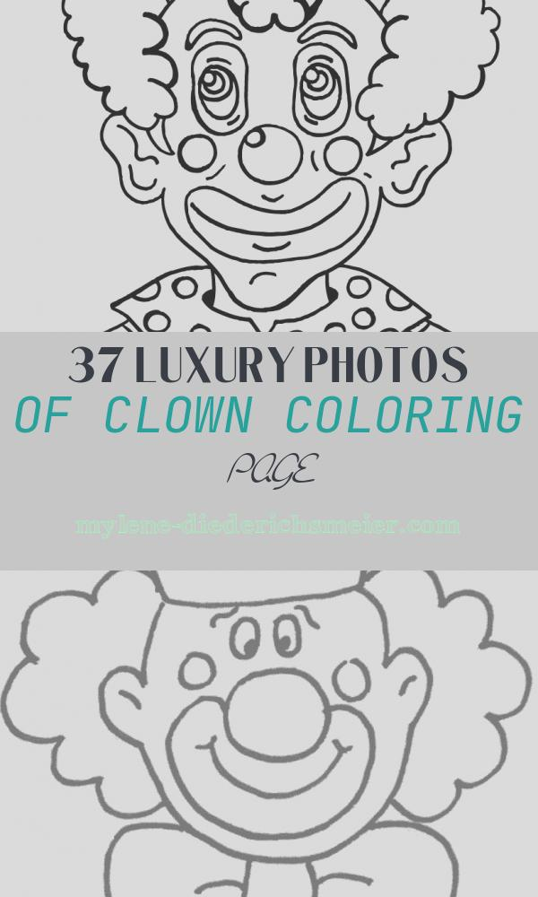 Clown Coloring Page Best Of Free Printable Clown Coloring Pages for Kids