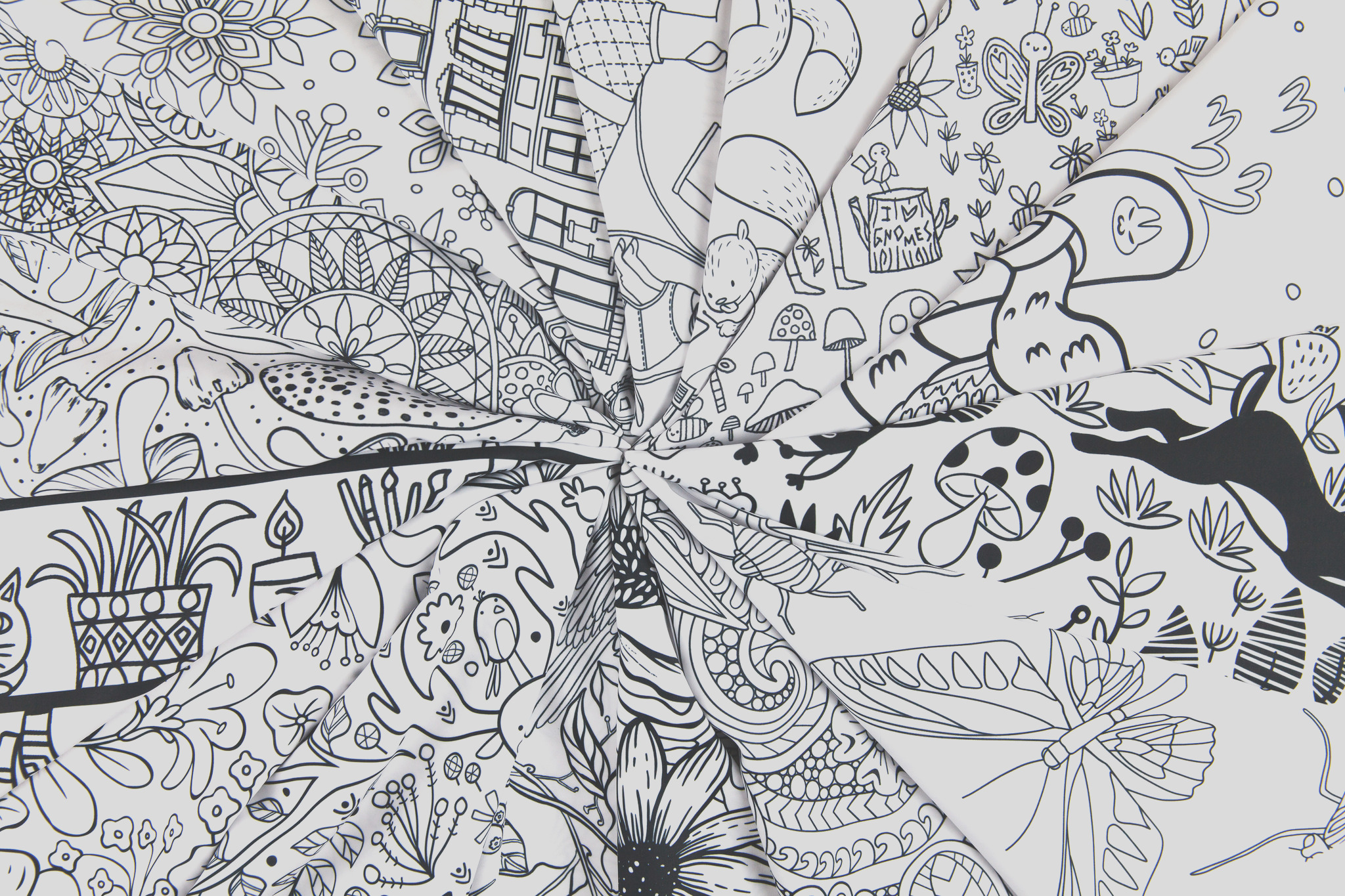 this coloring book app will make fabric design a breeze
