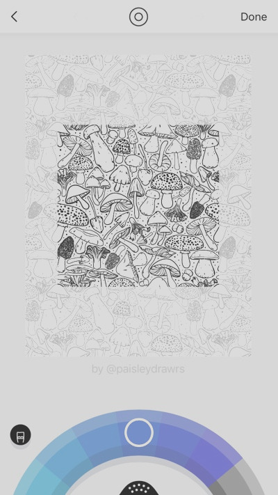 print coloring pages fabric