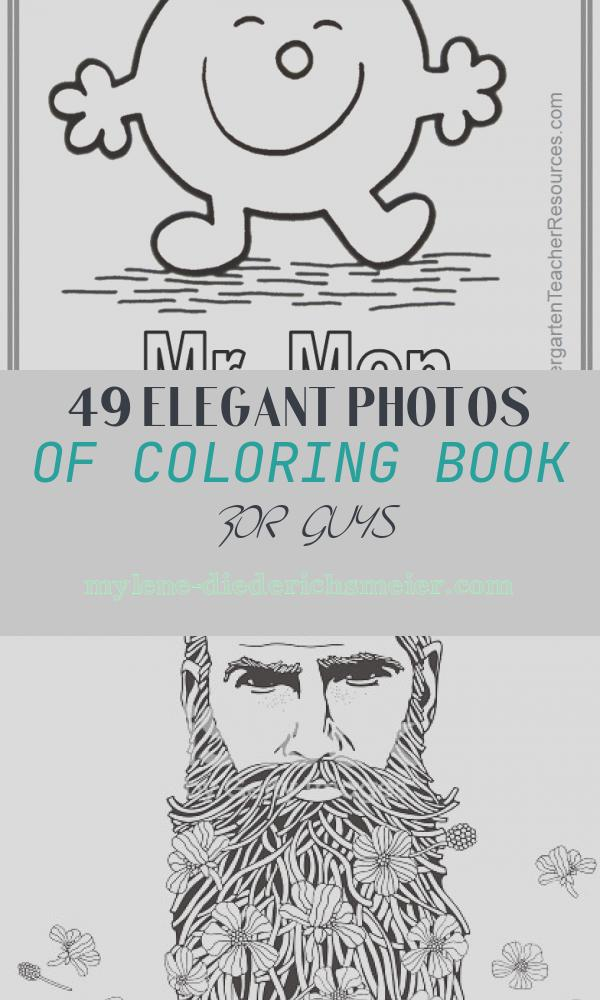Coloring Book for Guys Inspirational Mr Men Coloring Pages