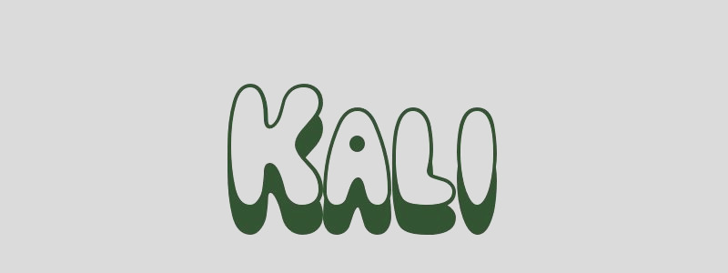 coloring page first name 6818 kali