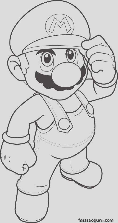 print out coloring pages mario coloring sheet for kids