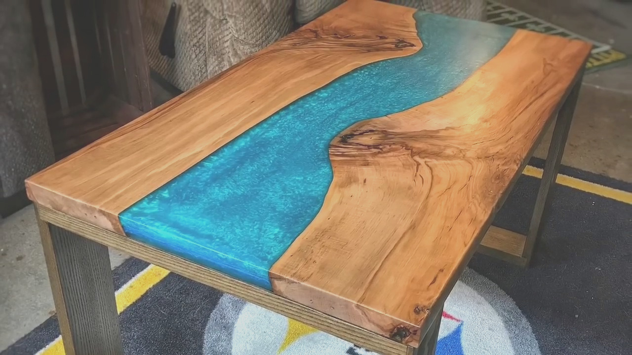 how to color epoxy resin with paint and pigment