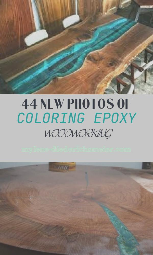 Coloring Epoxy Woodworking Elegant How to Use Colored Epoxy Resin as A Coating for Wood