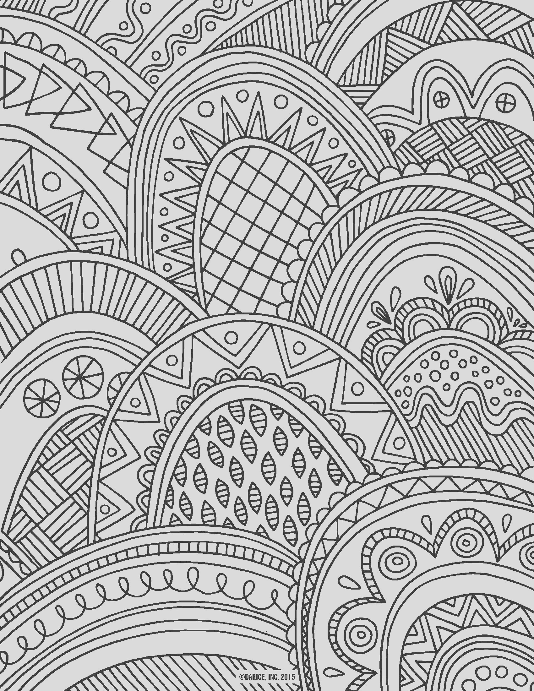 20 attractive coloring pages for adults
