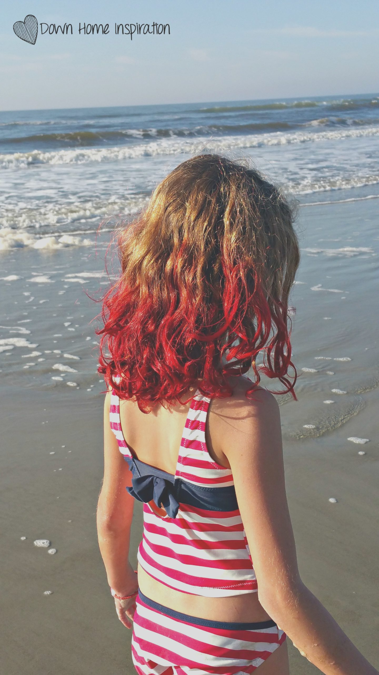 time colored kids hair kool aid youve gotta see