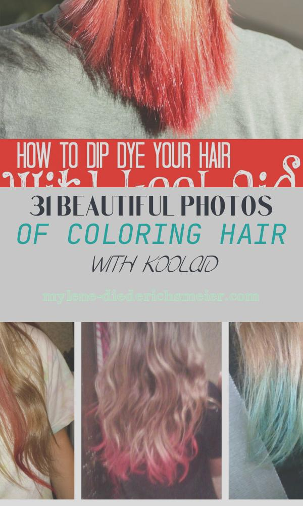 Coloring Hair with Koolaid New How to Dip Dye Your Hair with Kool Aid Tips From A