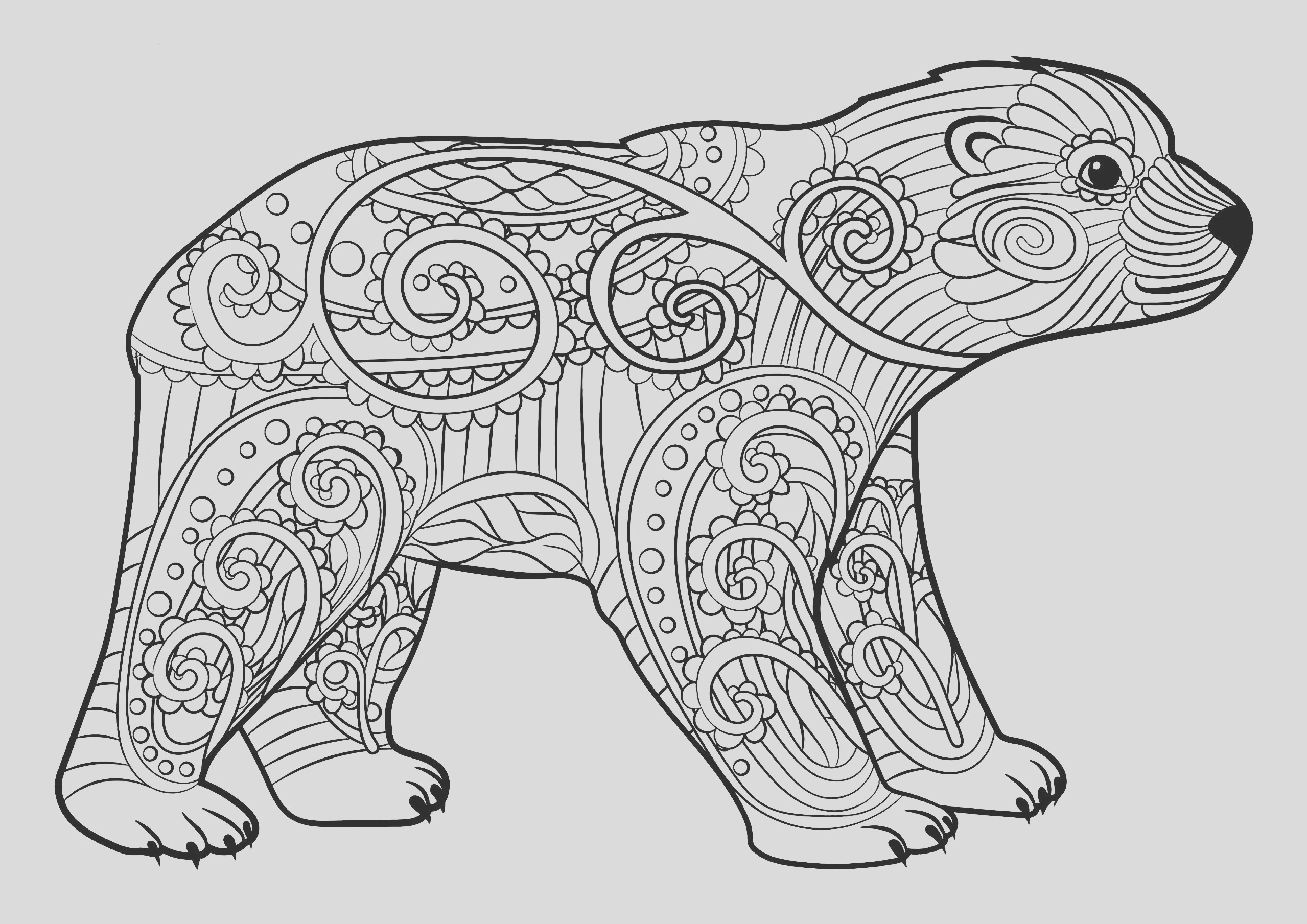 image=bears coloring pages for children bears 1