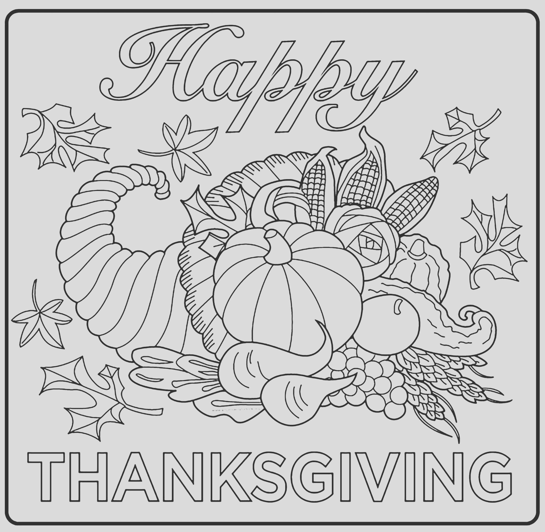 image=thanksgiving coloring pages for children thanksgiving 1