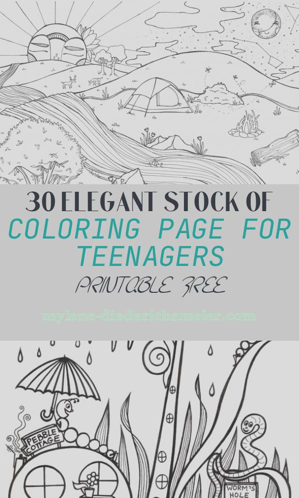 Coloring Page for Teenagers Printable Free Inspirational Your Kids and You Will Love these Free Printable