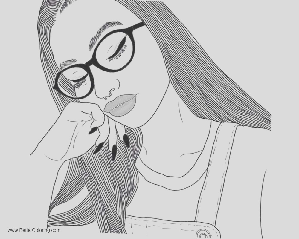 girly pages for teens sketch templates