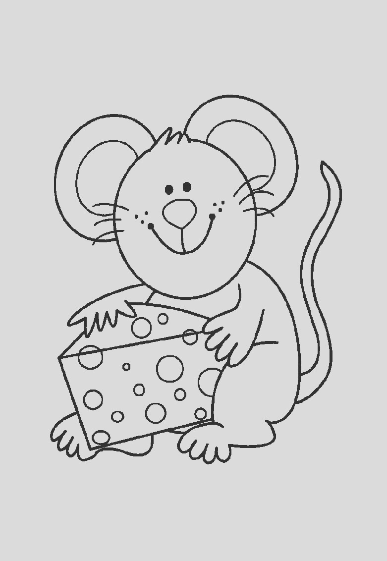 image=mouse Coloring for kids mouse 1