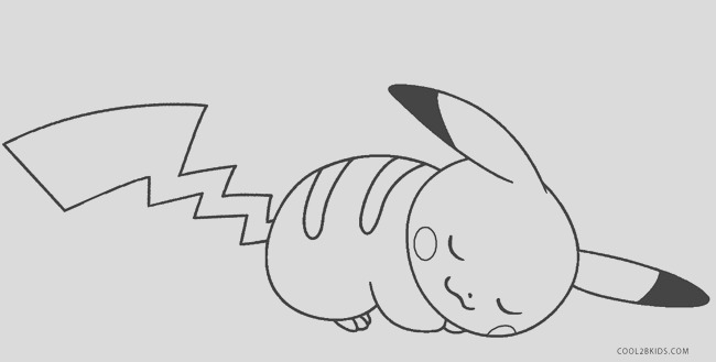 pikachu coloring pages