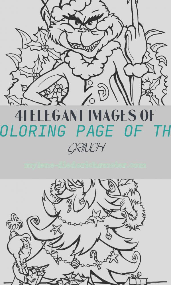 Coloring Page Of the Grinch Elegant the Grinch the Grinch Kids Coloring Pages