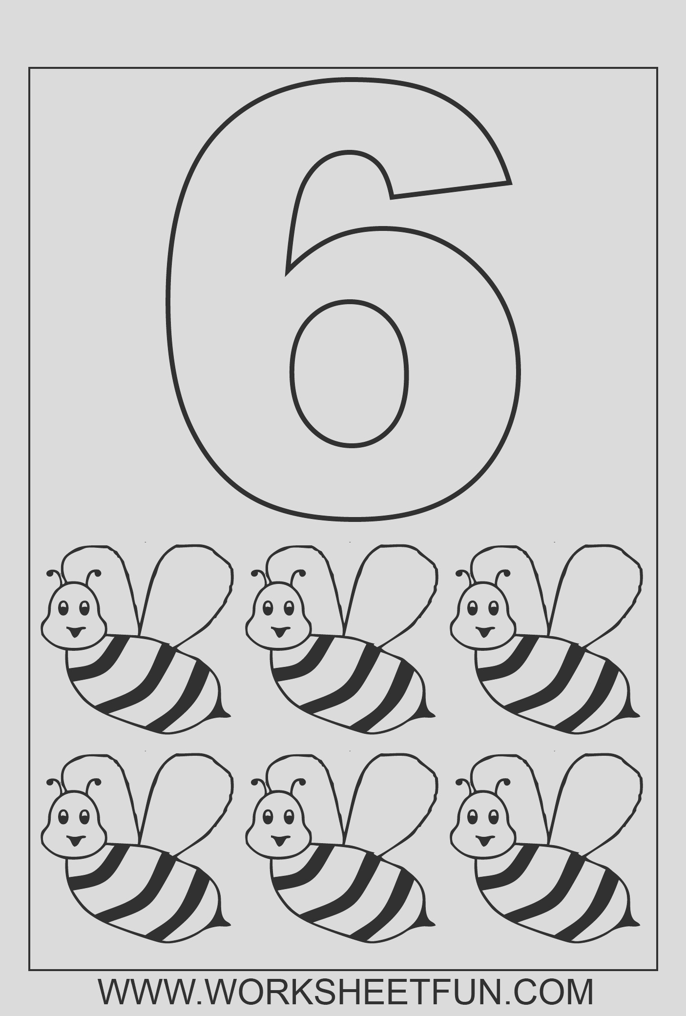 number coloring pages 10 worksheets