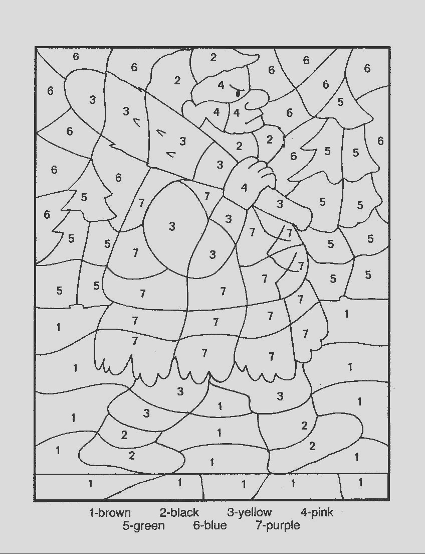 number coloring pages 12