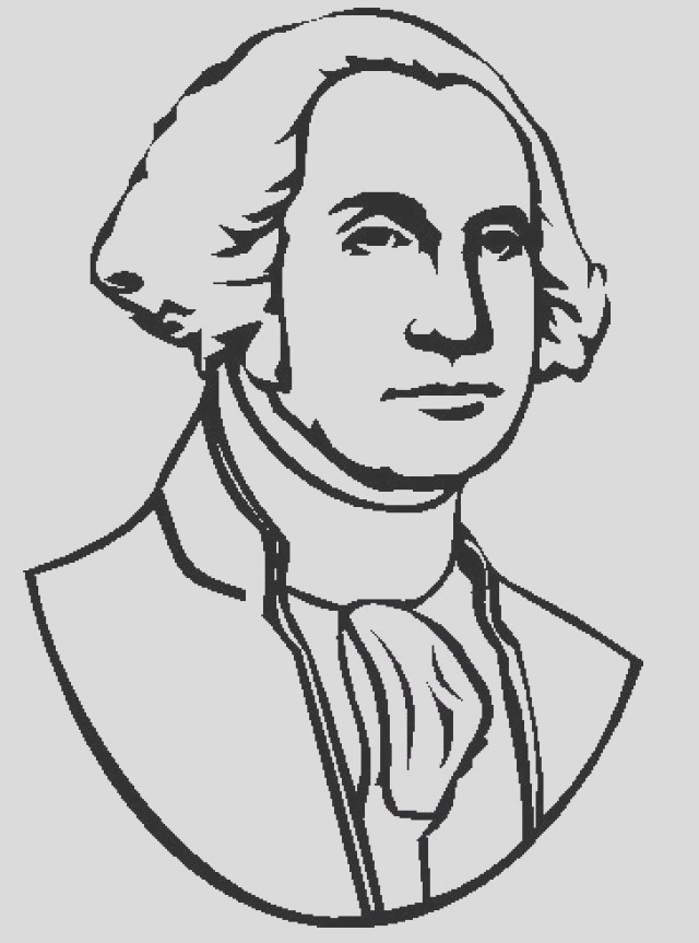 george washington coloring pages for kids