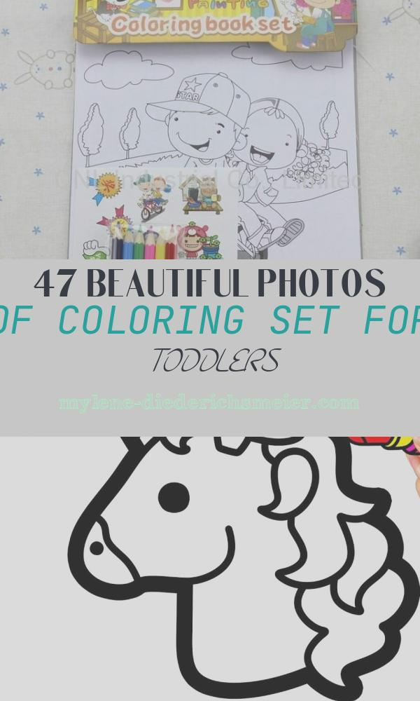 Coloring Set for toddlers New Printing Education Coloring Book T Set T Sets for