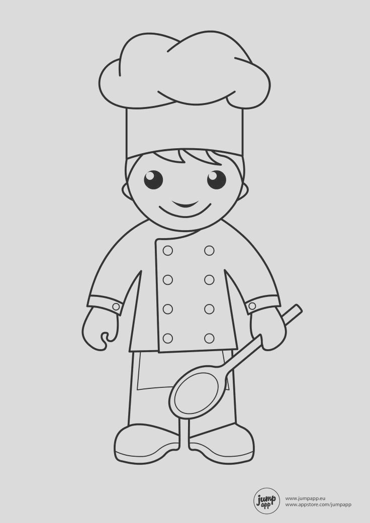 cooking coloring page