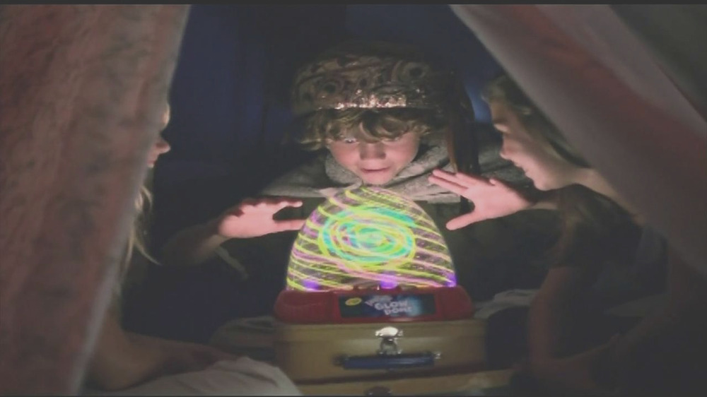 crayola glow dome make it glow and spin song by rachael goodrich