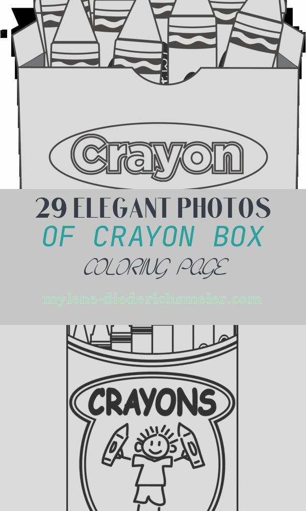 Crayon Box Coloring Page Fresh Color My World Valentine Printable