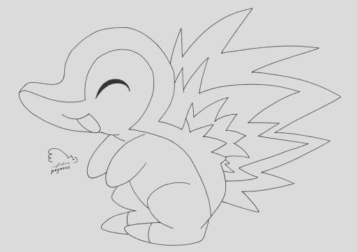 cyndaquil pages sketch templates