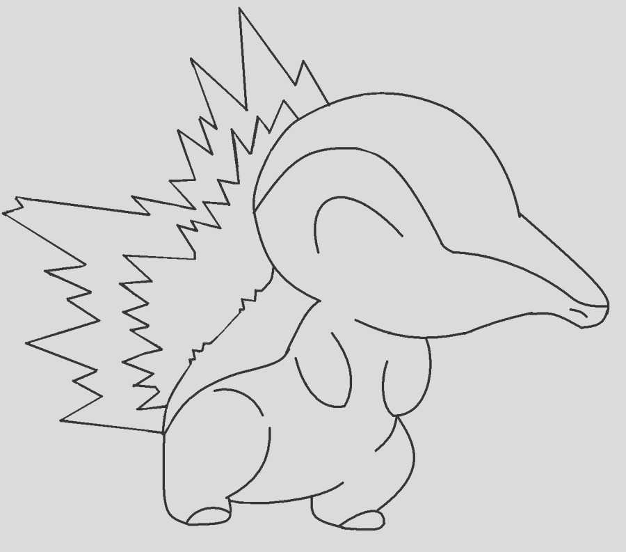 Color in Cyndaquil