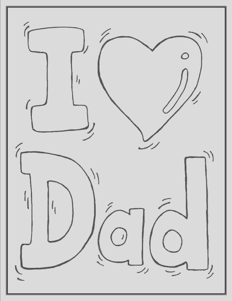 fathers day coloring pages