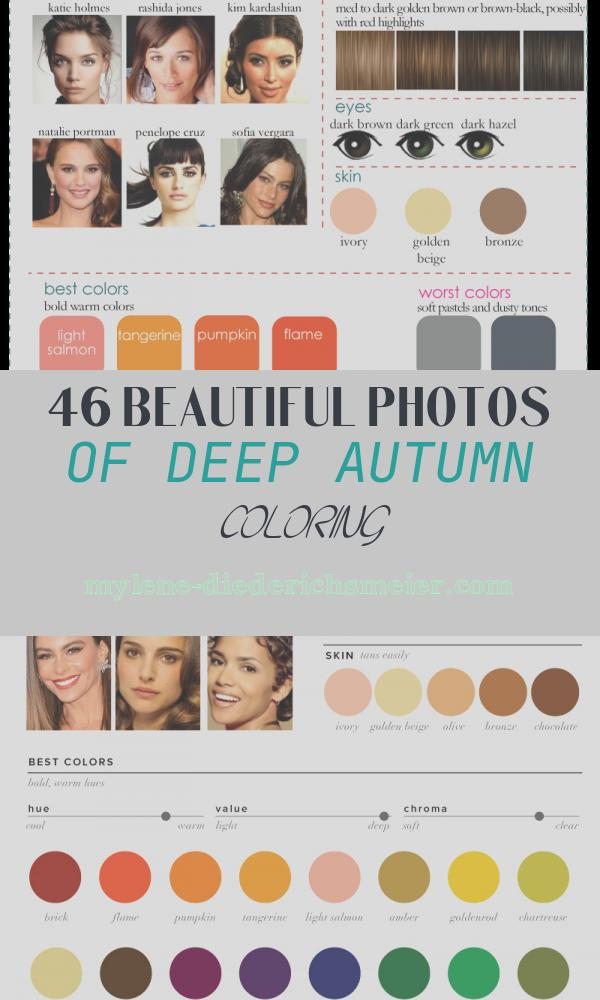 Deep Autumn Coloring Best Of Color Analysis 3 Degrees Of Warm & Rich