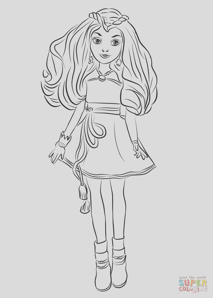 evie from descendants wicked world