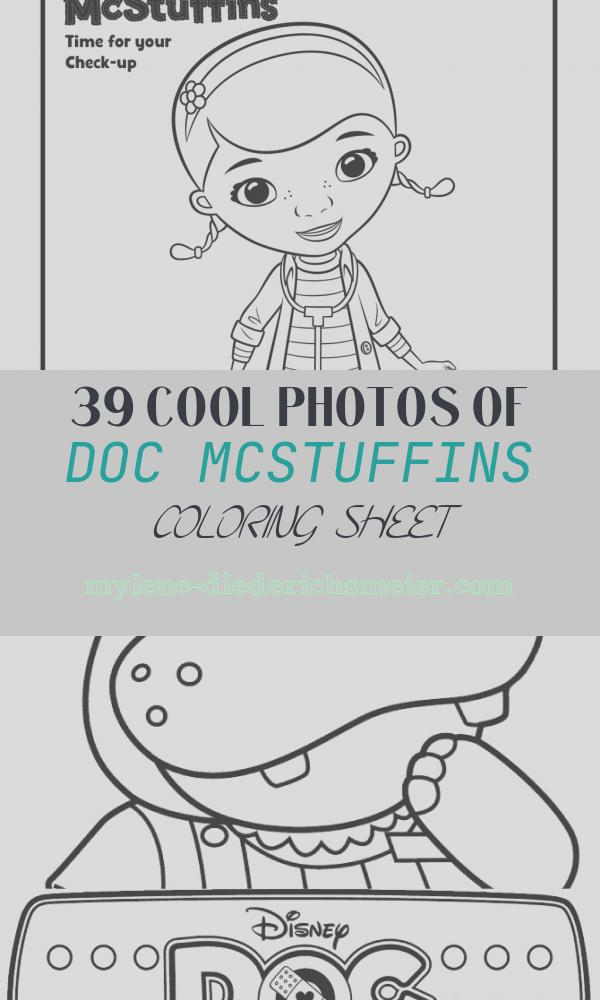 Doc Mcstuffins Coloring Sheet Inspirational Doc Mcstuffins Coloring Pages to Print Coloring Home