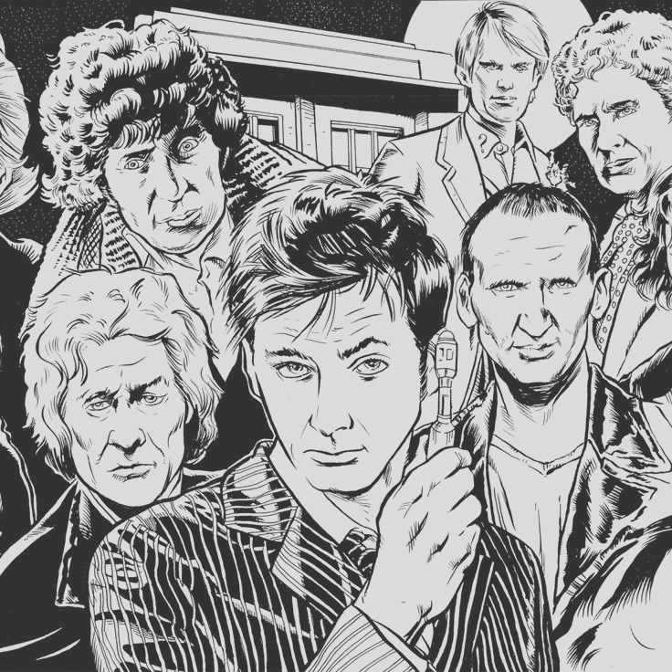 coloriage doctor who