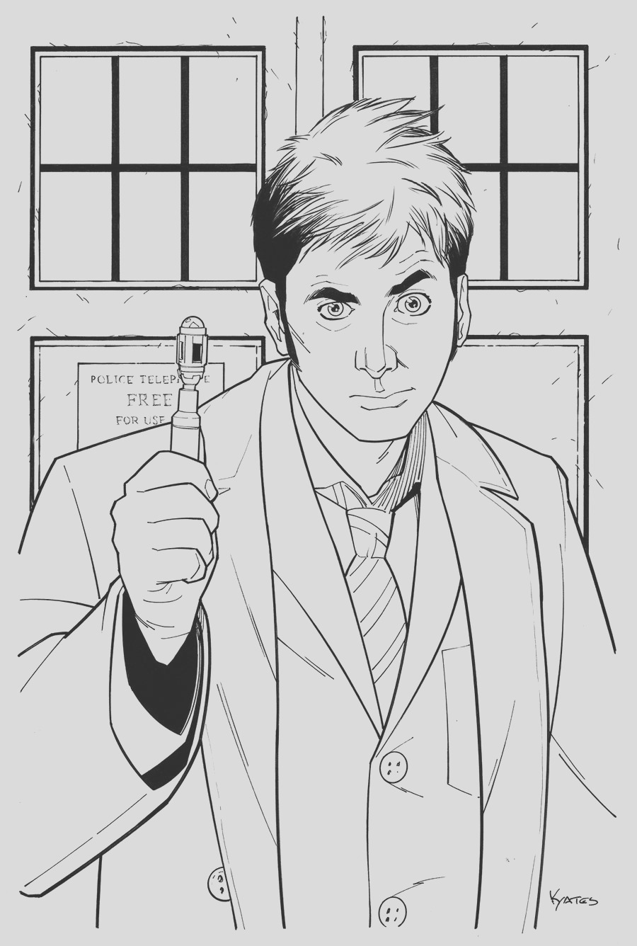 character from doctor who coloring pages
