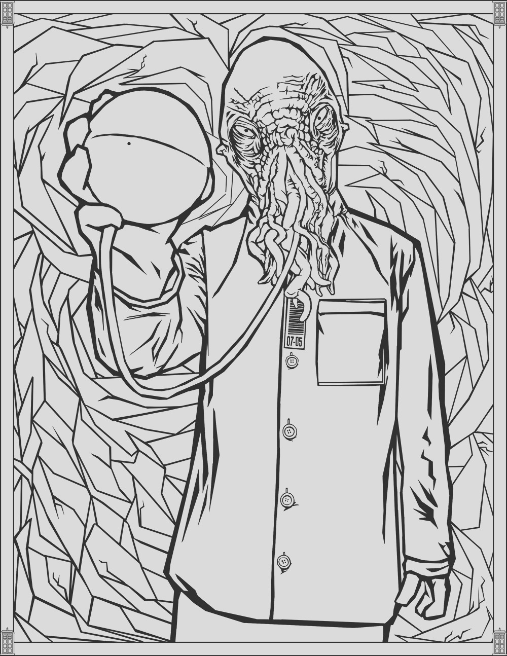 image=tv series Doctor Who Coloring Pages Ood 1
