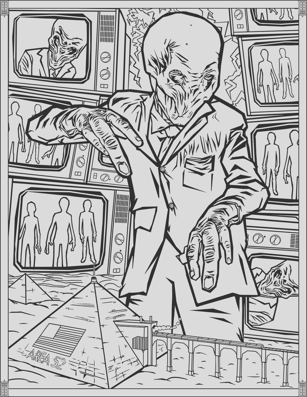 image=tv series Doctor Who Coloring Pages Silence 1