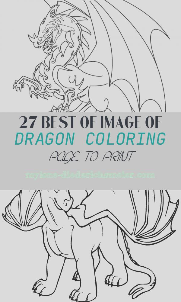 Dragon Coloring Page to Print Fresh Printable Dragon Coloring Pages for Kids