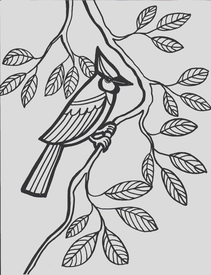 simple colouring pages