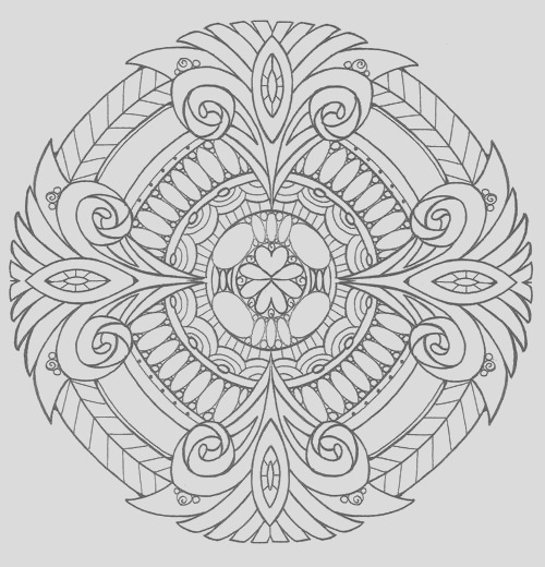 Adult Coloring Pages PDF