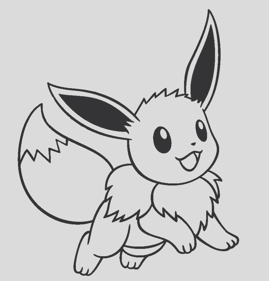 Pokemon Coloring Pages Eevee Evolutions part 2