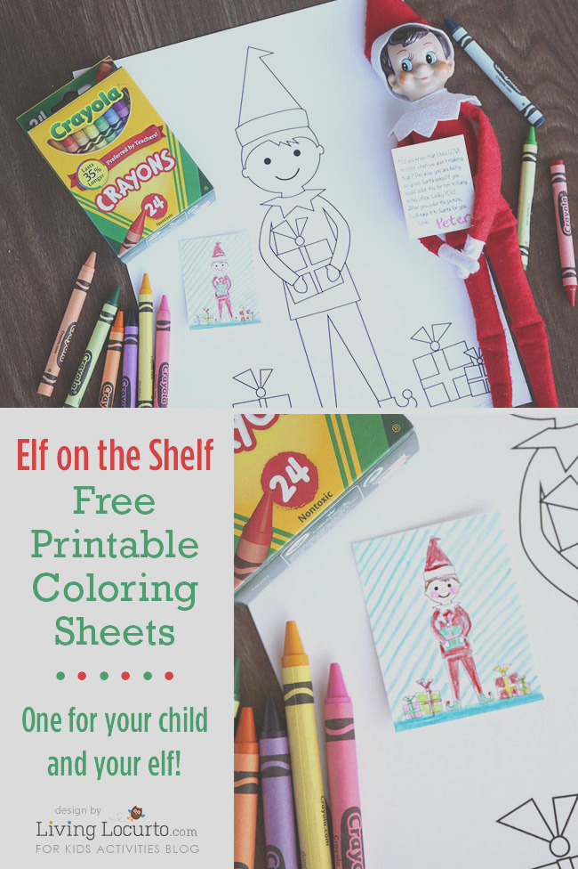 elf shelf sized coloring sheets kid sized coloring sheets