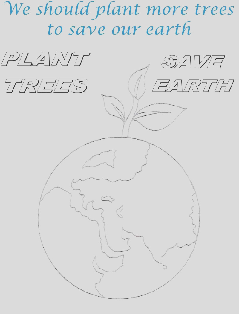 3205 Save Environment Coloring Pages