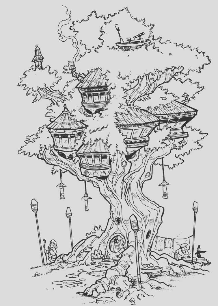 the treehouse inks