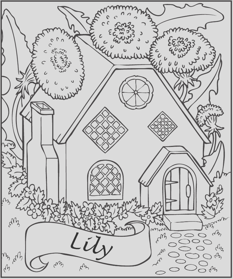 fairy tree house coloring pages sketch templates