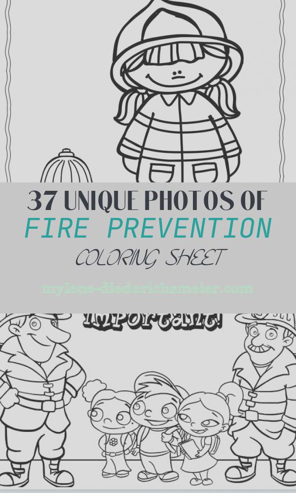 Fire Prevention Coloring Sheet Best Of Coloring Pages for Fire Safety