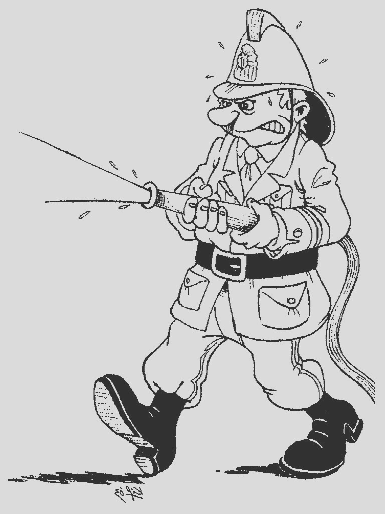 firefighter coloring pages to print