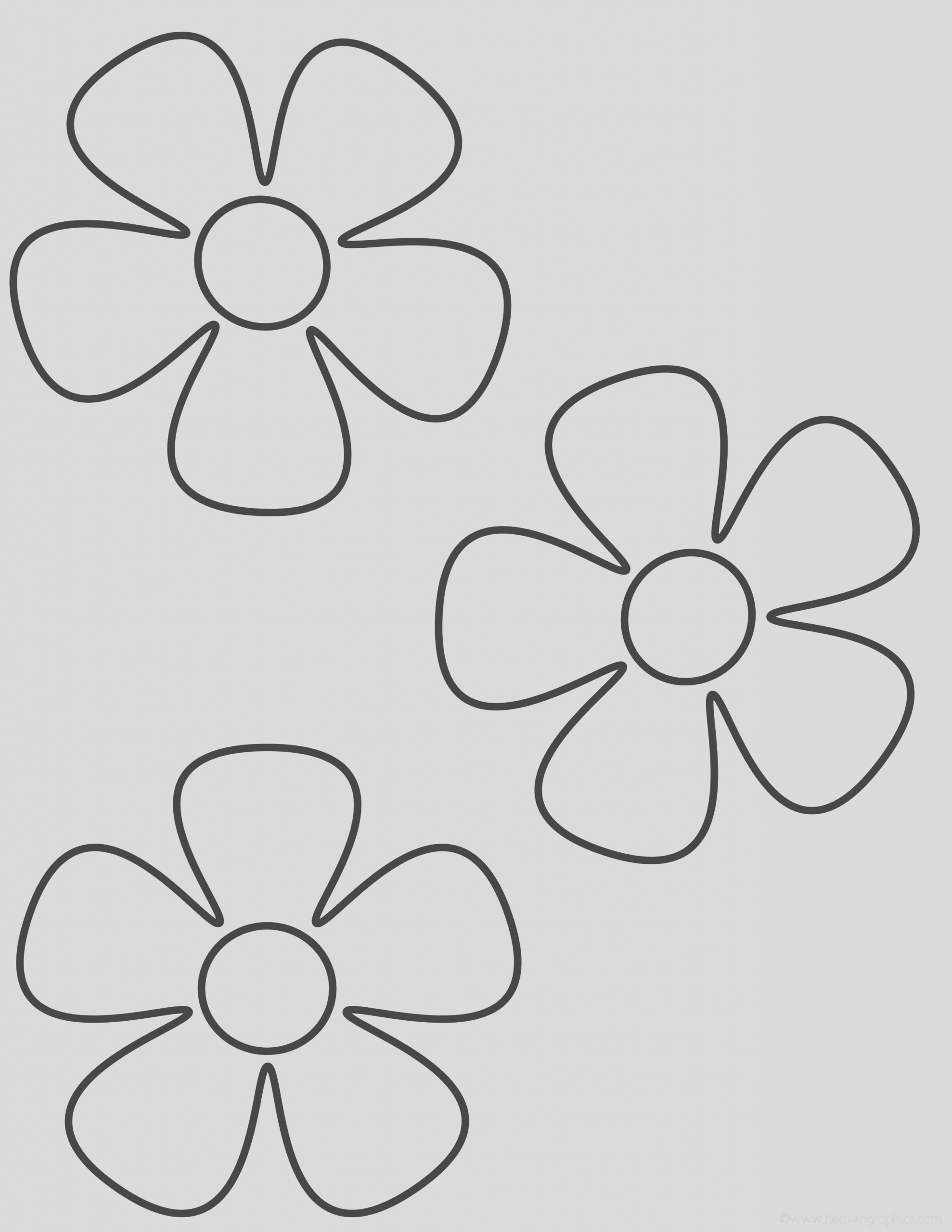 flower coloring pages 1