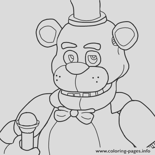 five nights at freddys fnaf printable coloring pages book